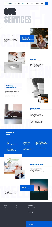 Houska Insurance - website design