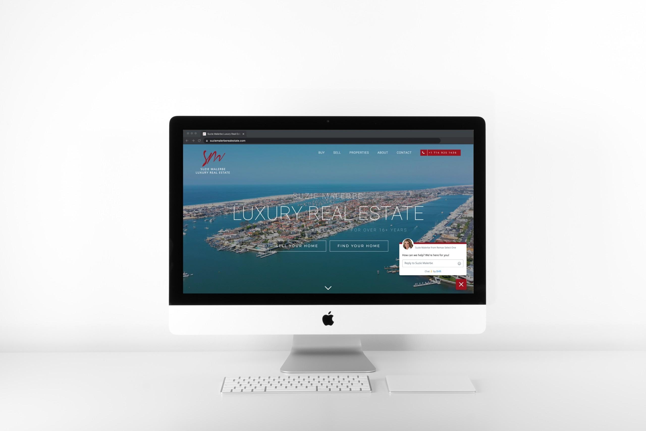 Real Estate Website Design Agency Newport Beach